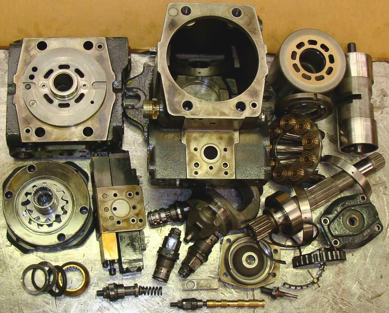 pompe hydraulique rexroth a4vg