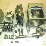 Reparation pompe hydraulique sauer