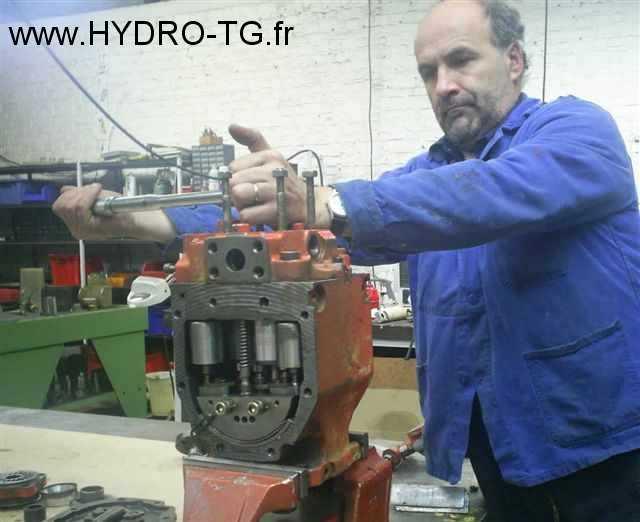 pompe linde hydraulique bpv