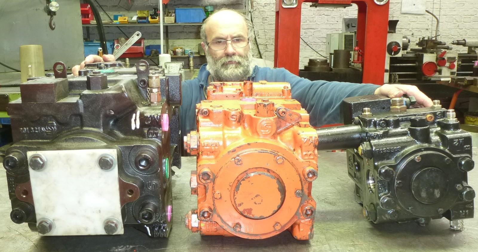 sauer reparation pompe hydraulique