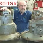 reparation pompe hydraulique liebherr