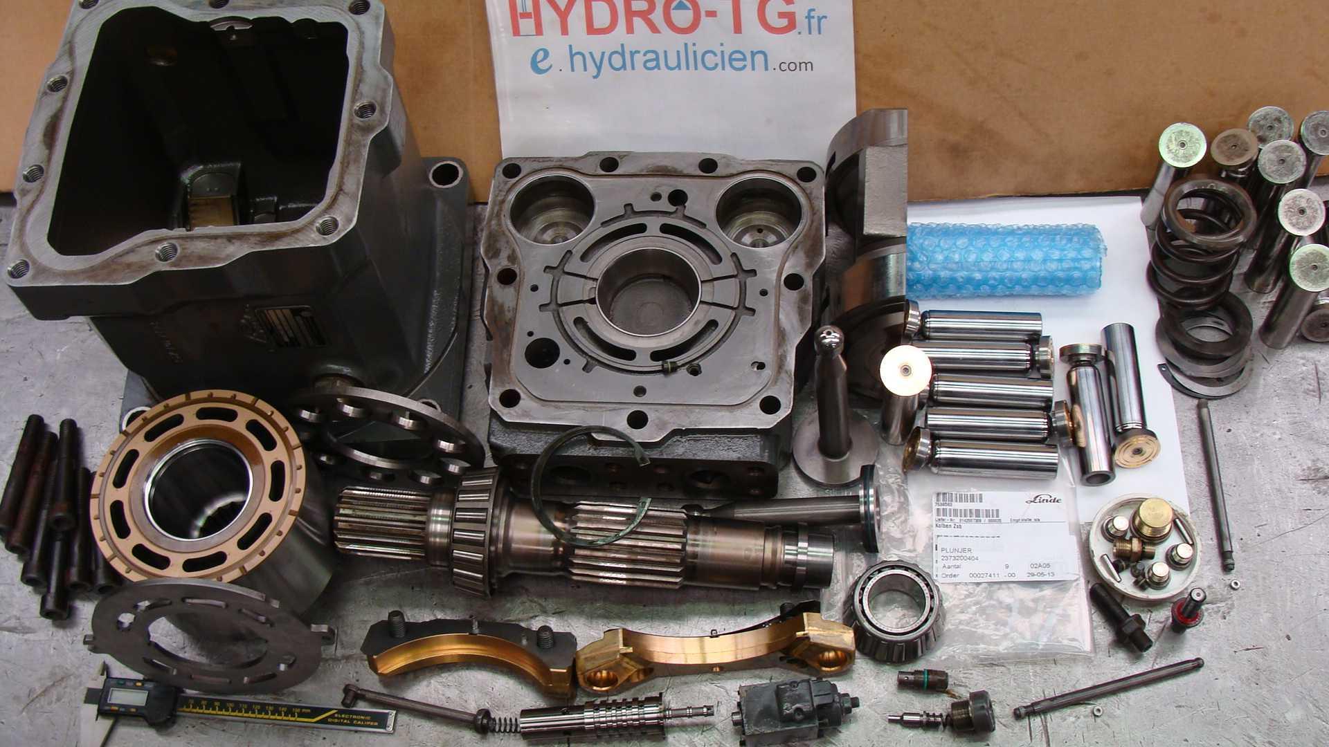 reparation.moteur.hydraulique.linde.HMV.210