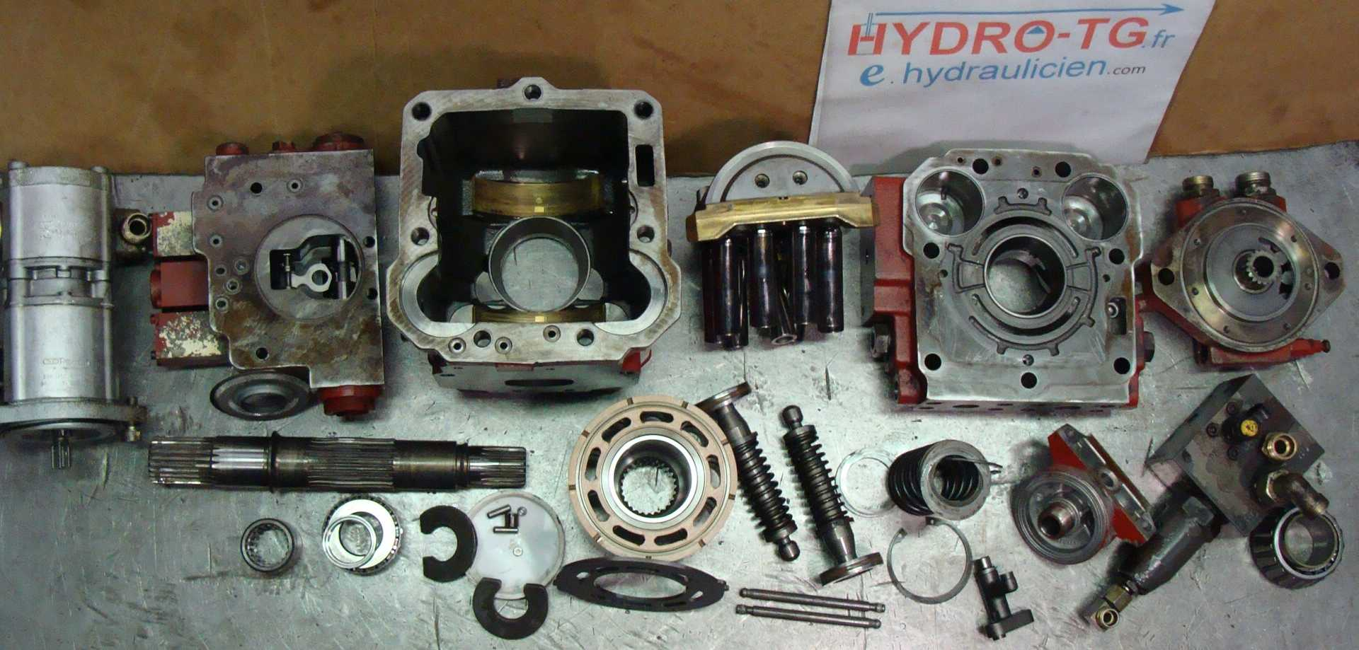 reparation.pompe.hydraulique.Linde.HPV.105