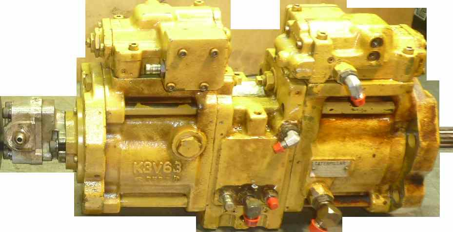 reparation pompe hydraulique Kawasaki precision machinery