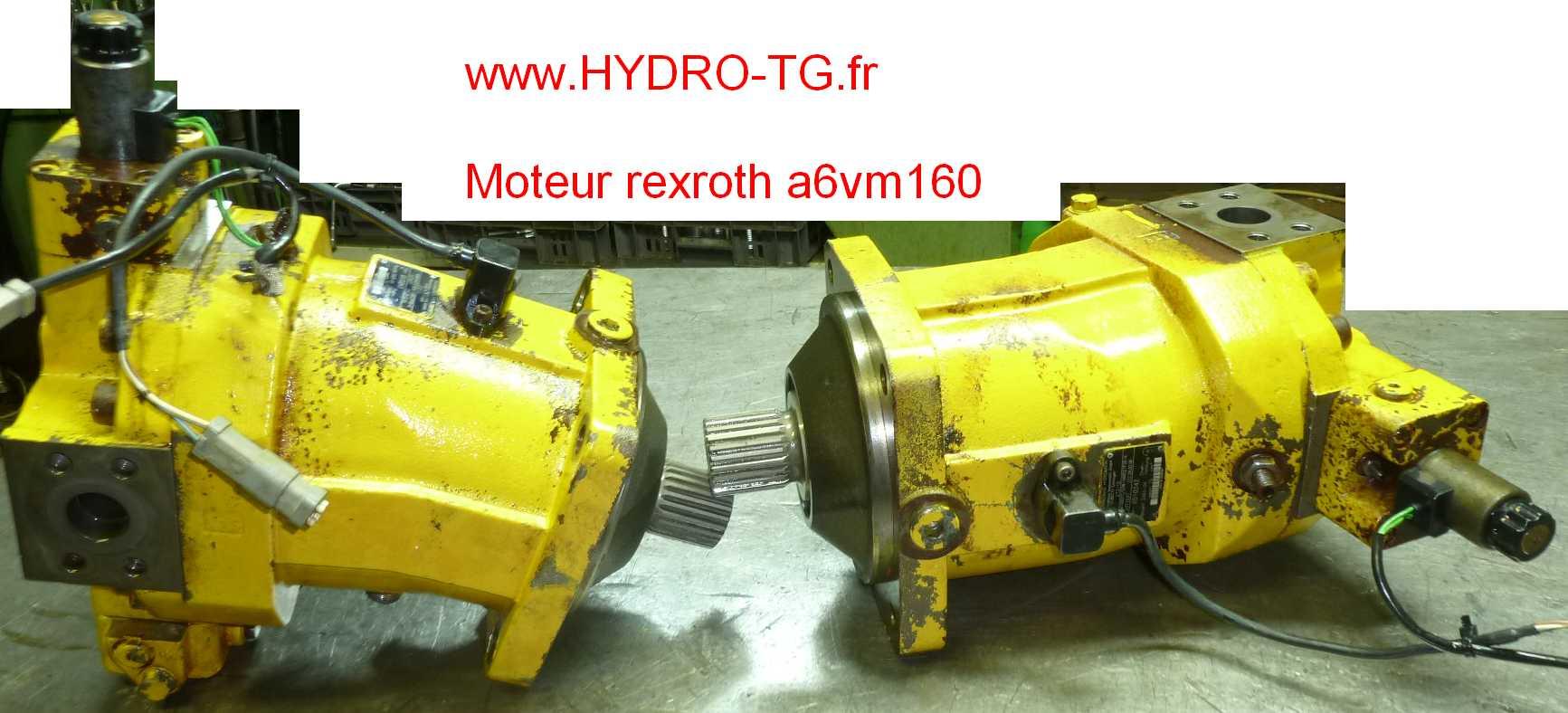 renovation moteur hydraulique Bruninghaus Hydromatik a6vm160