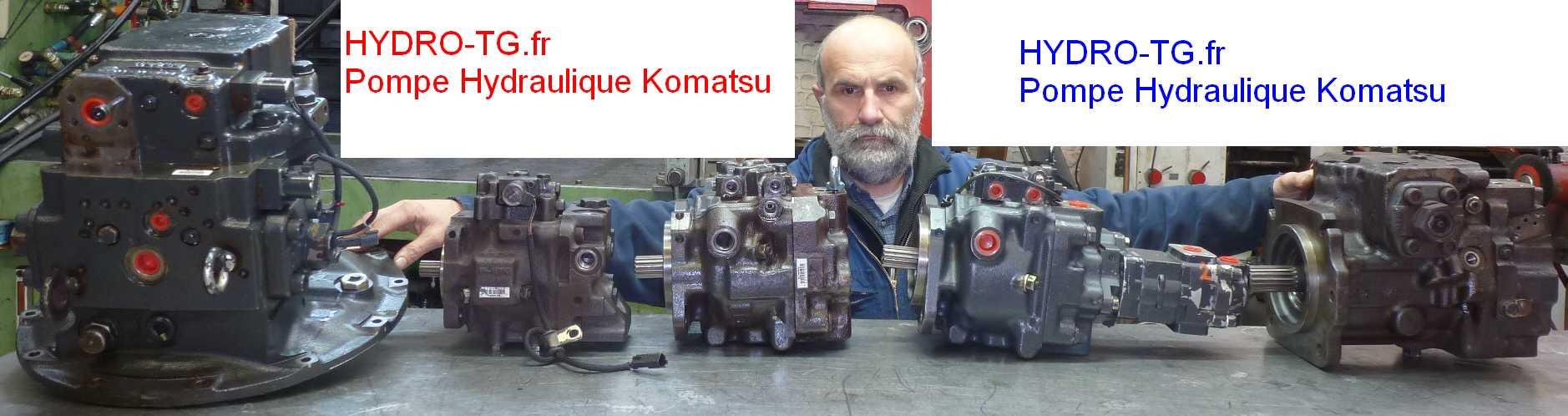 Révision Pompes Hydrauliques Komatsu