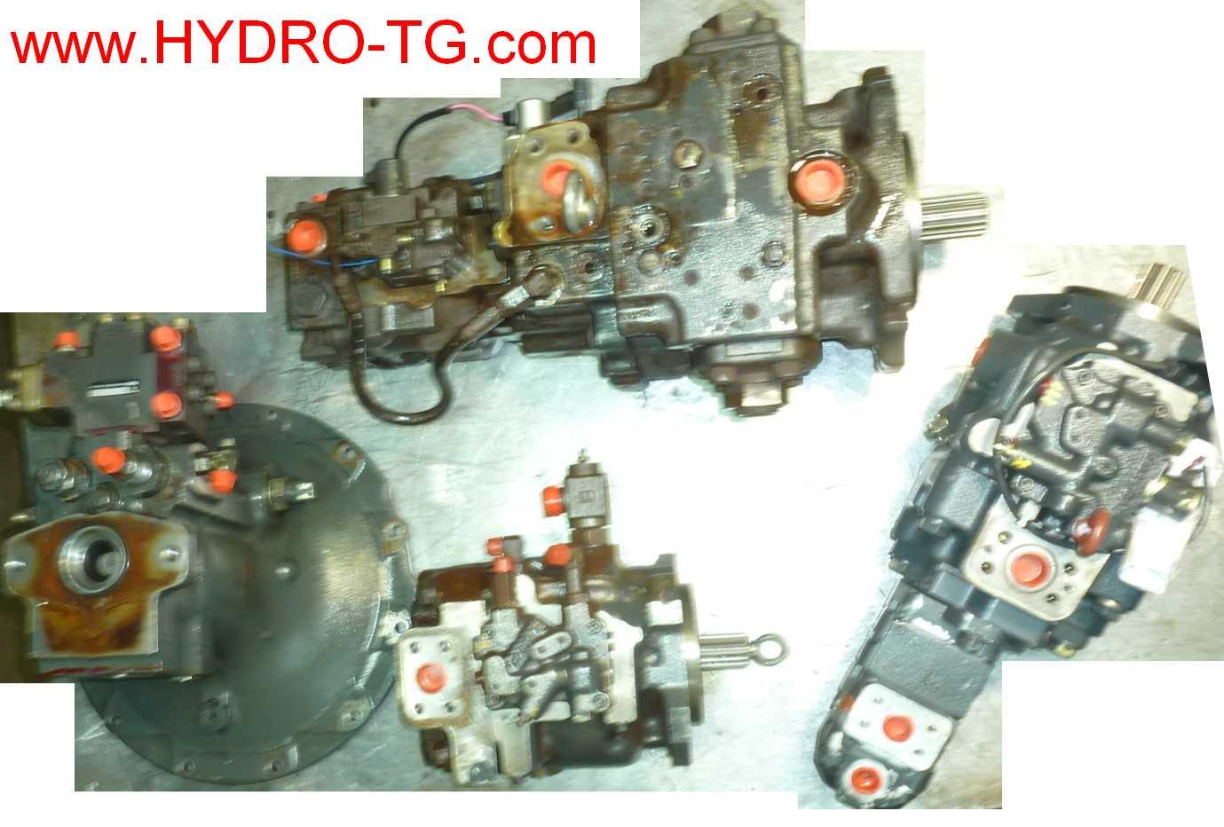 renovation-hydraulique-pompe-komatsu
