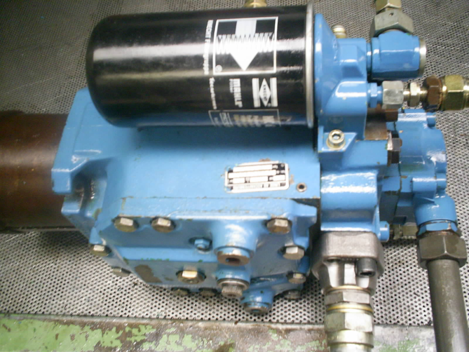 reparation pompe hydraulique linde bpv100