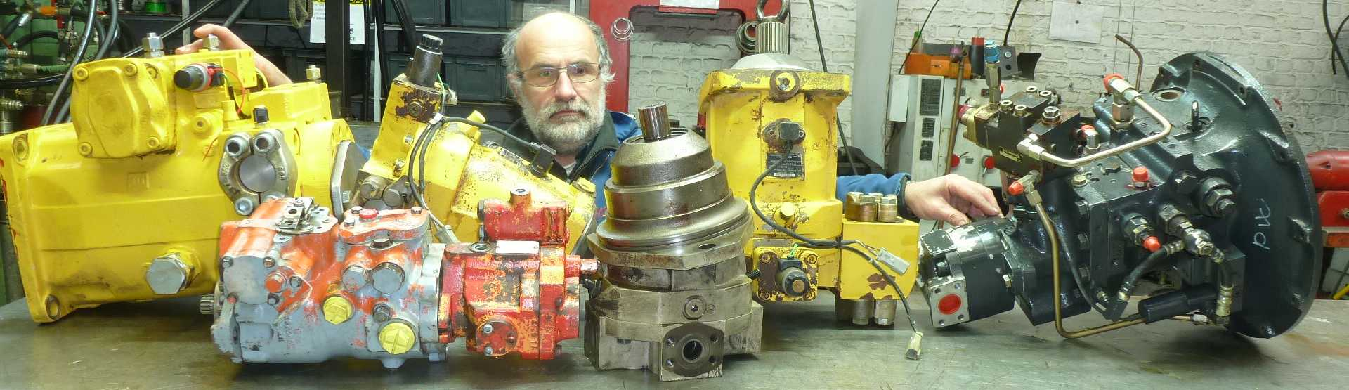 reparations pompes hydraulique