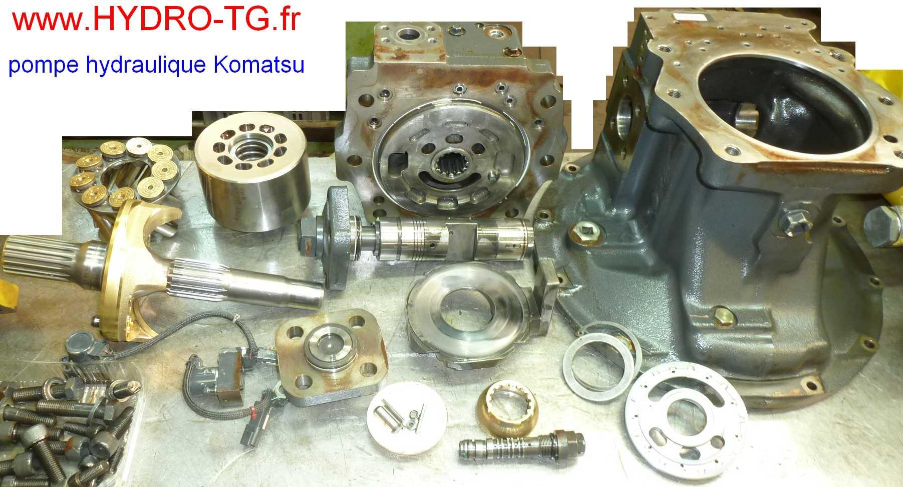 komatsu revovation pompe hydraulique